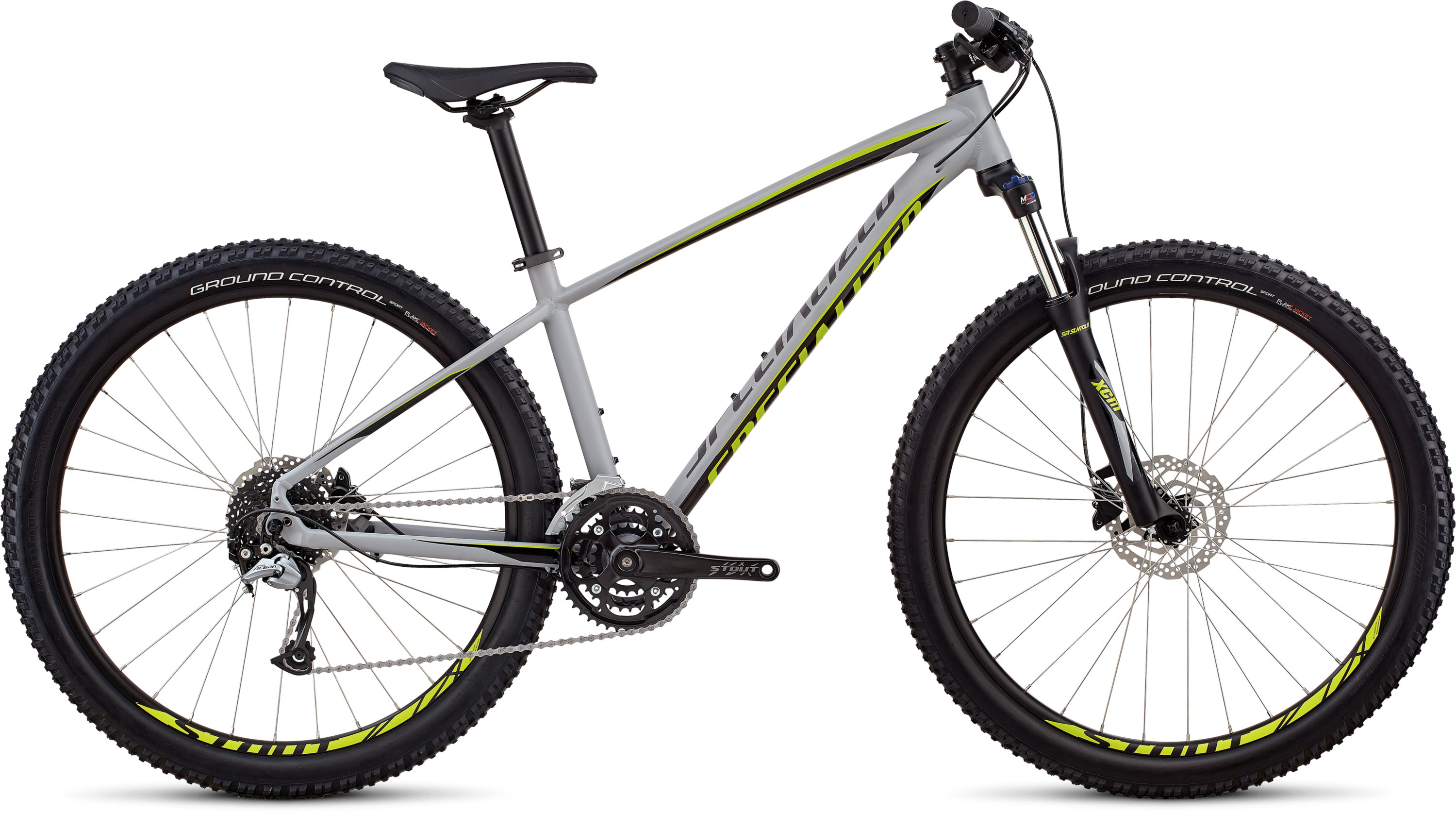 Specialized Men´s Pitch Comp 27.5 SATIN GLOSS COOL GREY / BLACK / HYPER XL - Pulsschlag Bike+Sport