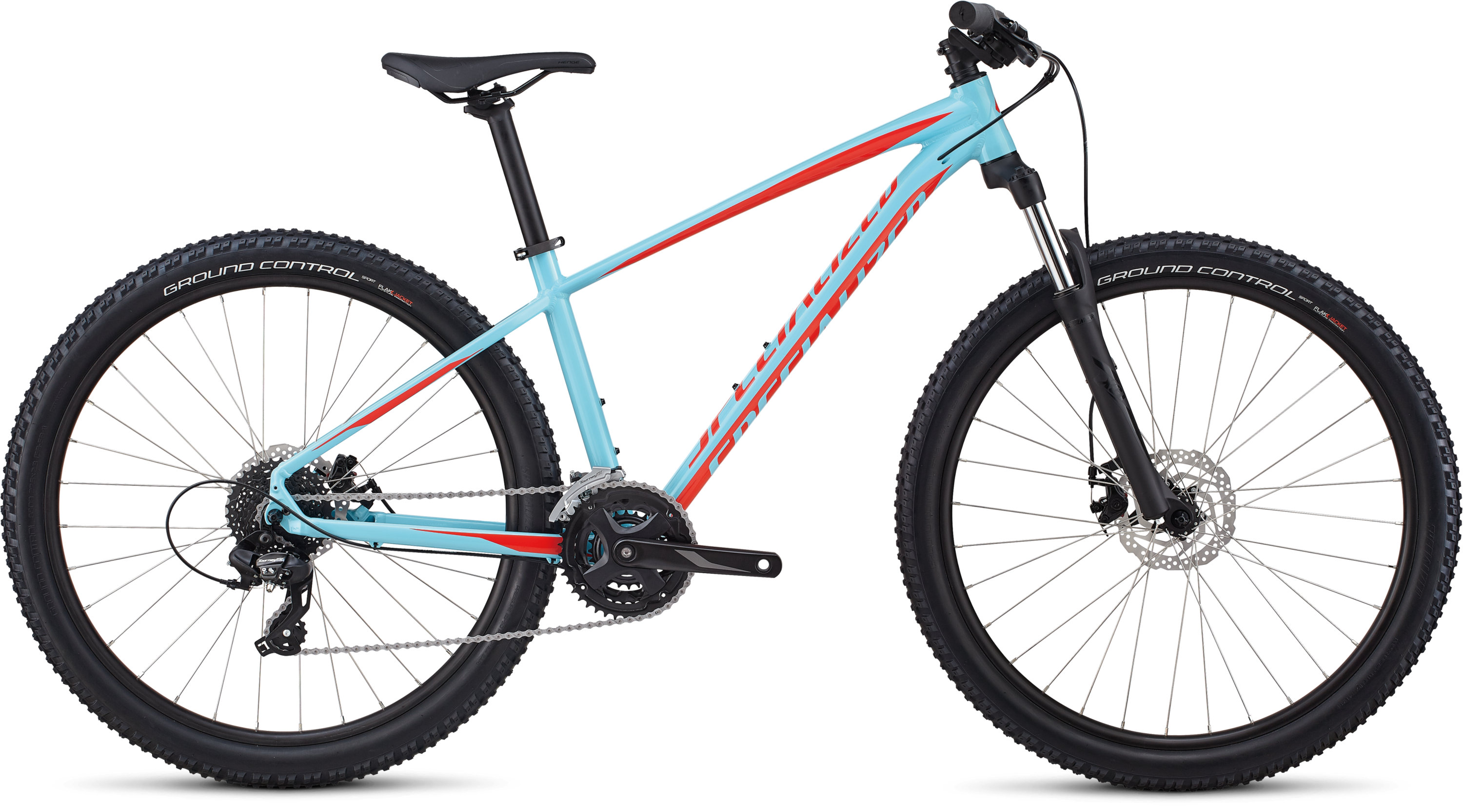 Specialized Men´s Pitch 27.5 GLOSS LT BLUE / ROCKET RED L - Pulsschlag Bike+Sport