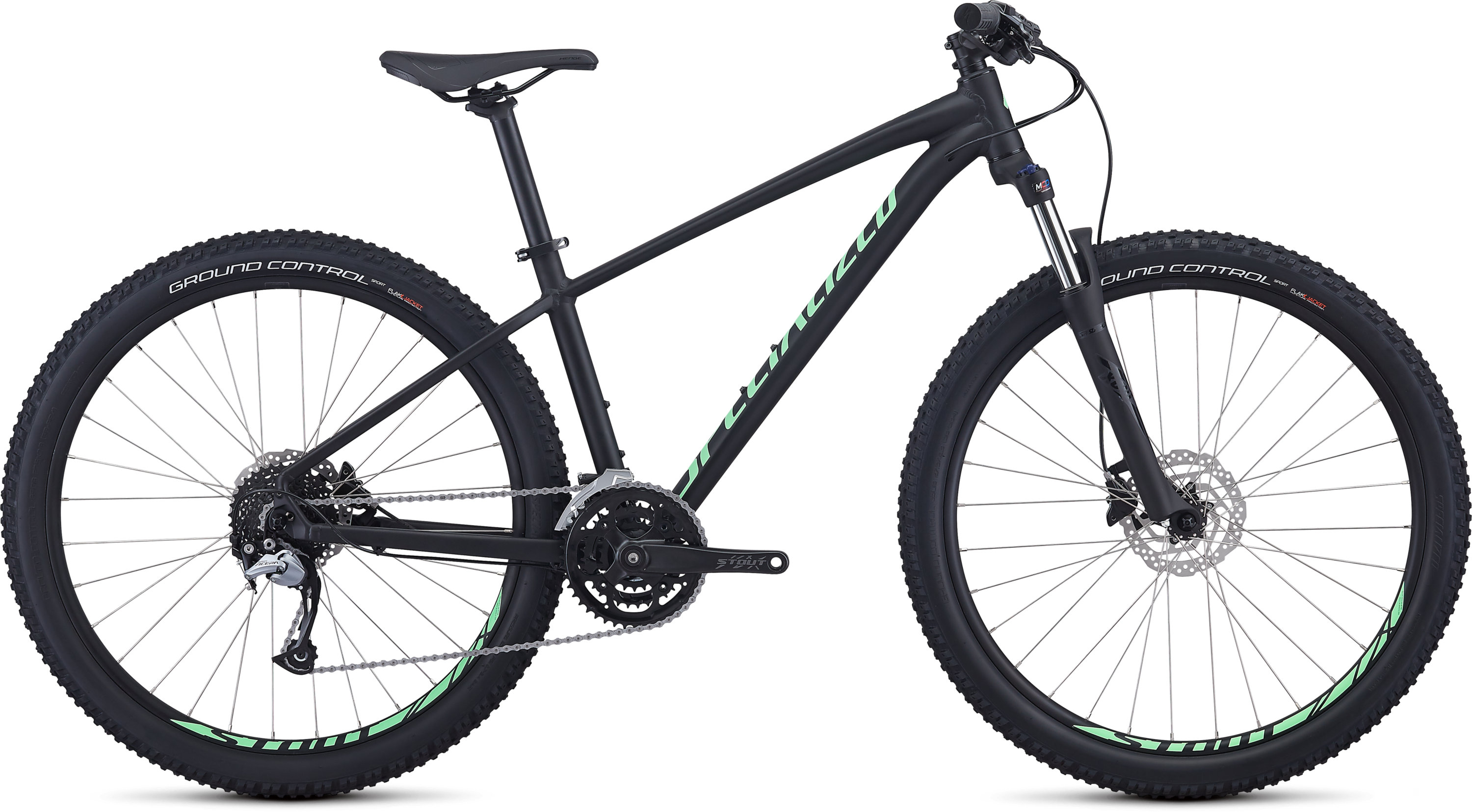 Specialized Men´s Pitch Comp Satin Black/Acid Kiwi/Clean S - Pulsschlag Bike+Sport
