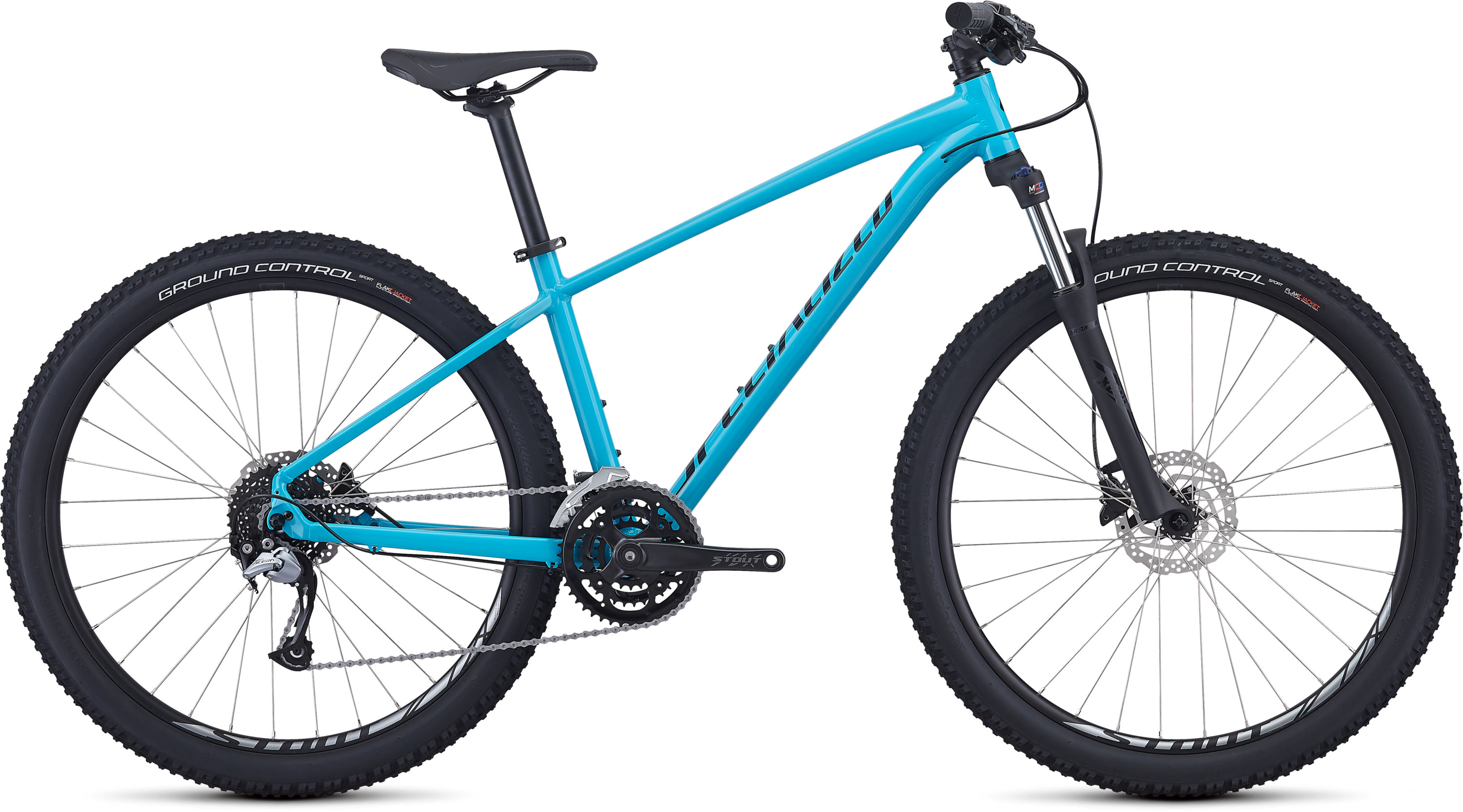 Specialized Men´s Pitch Comp Gloss Nice Blue/Tarmac Black/Clean L - Pulsschlag Bike+Sport
