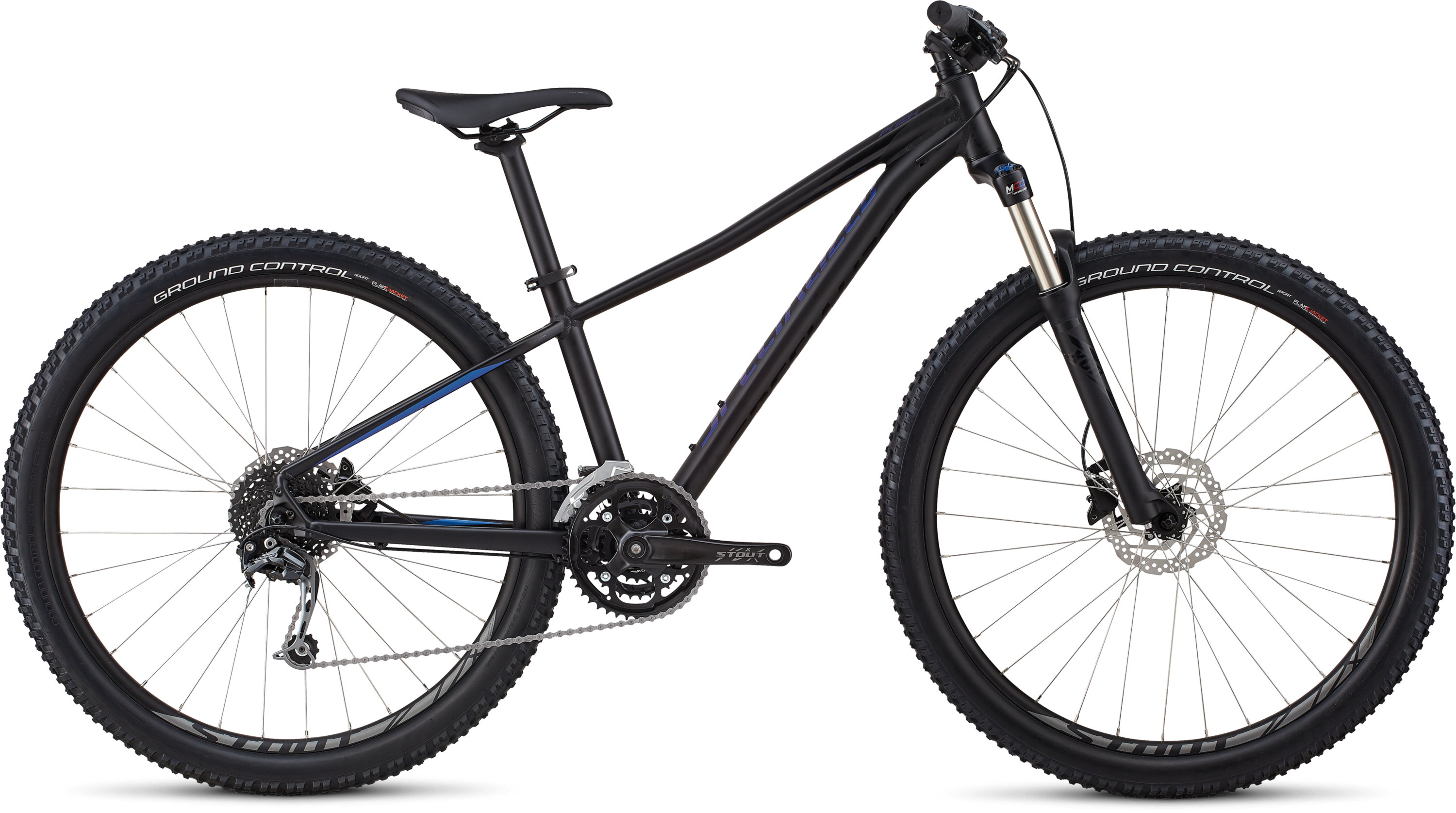 Specialized Women´s Pitch Expert 27.5 Gloss Satin Tarmac Black / Chameleon / Black L - Pulsschlag Bike+Sport