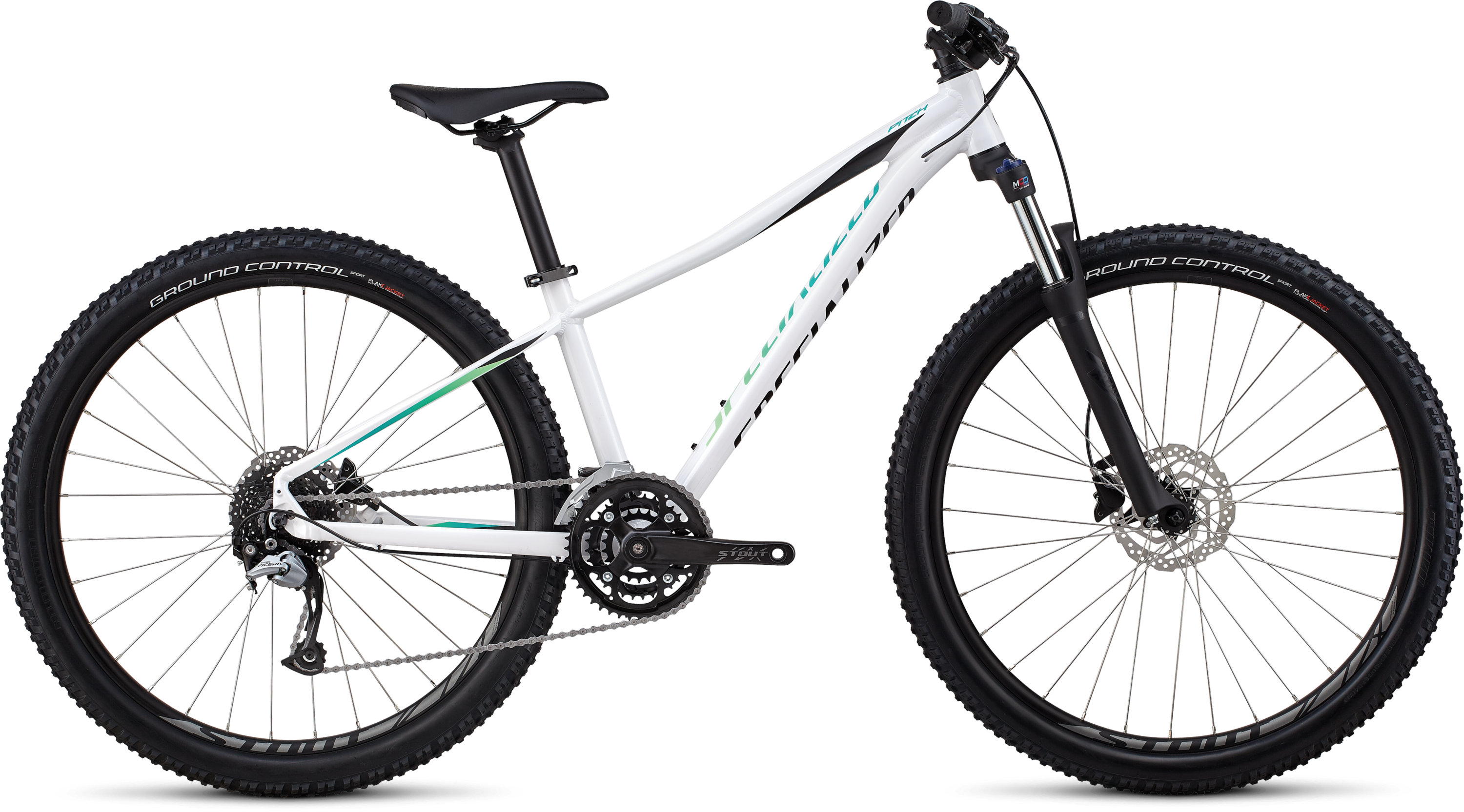 Specialized Women´s Pitch Comp 27.5 Gloss/Satin/White/Cali Fade Decals /Blk S - Pulsschlag Bike+Sport