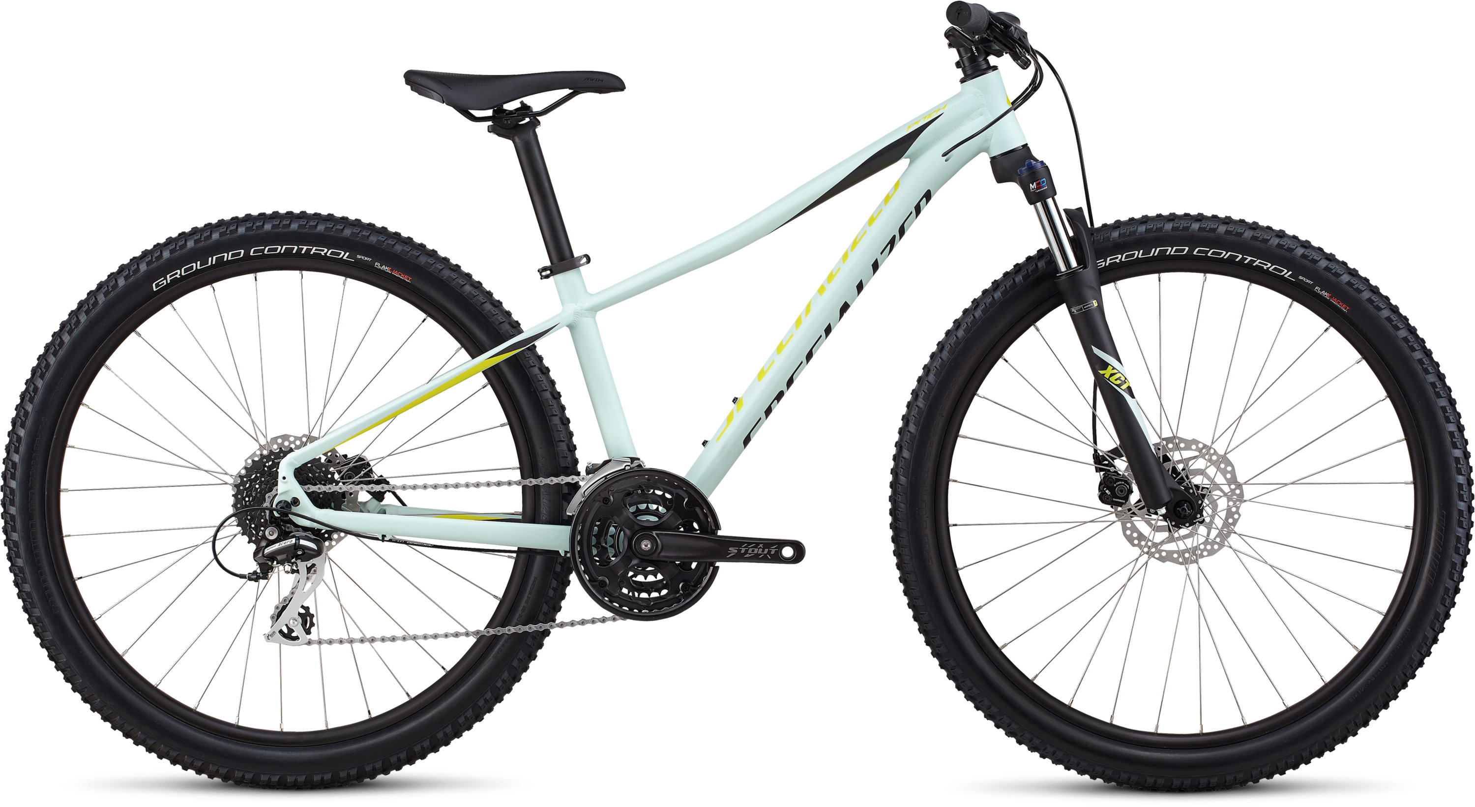 Specialized Women´s Pitch Sport 27.5 Satin / White Sage / Limon / Black / Reflect L - Pulsschlag Bike+Sport