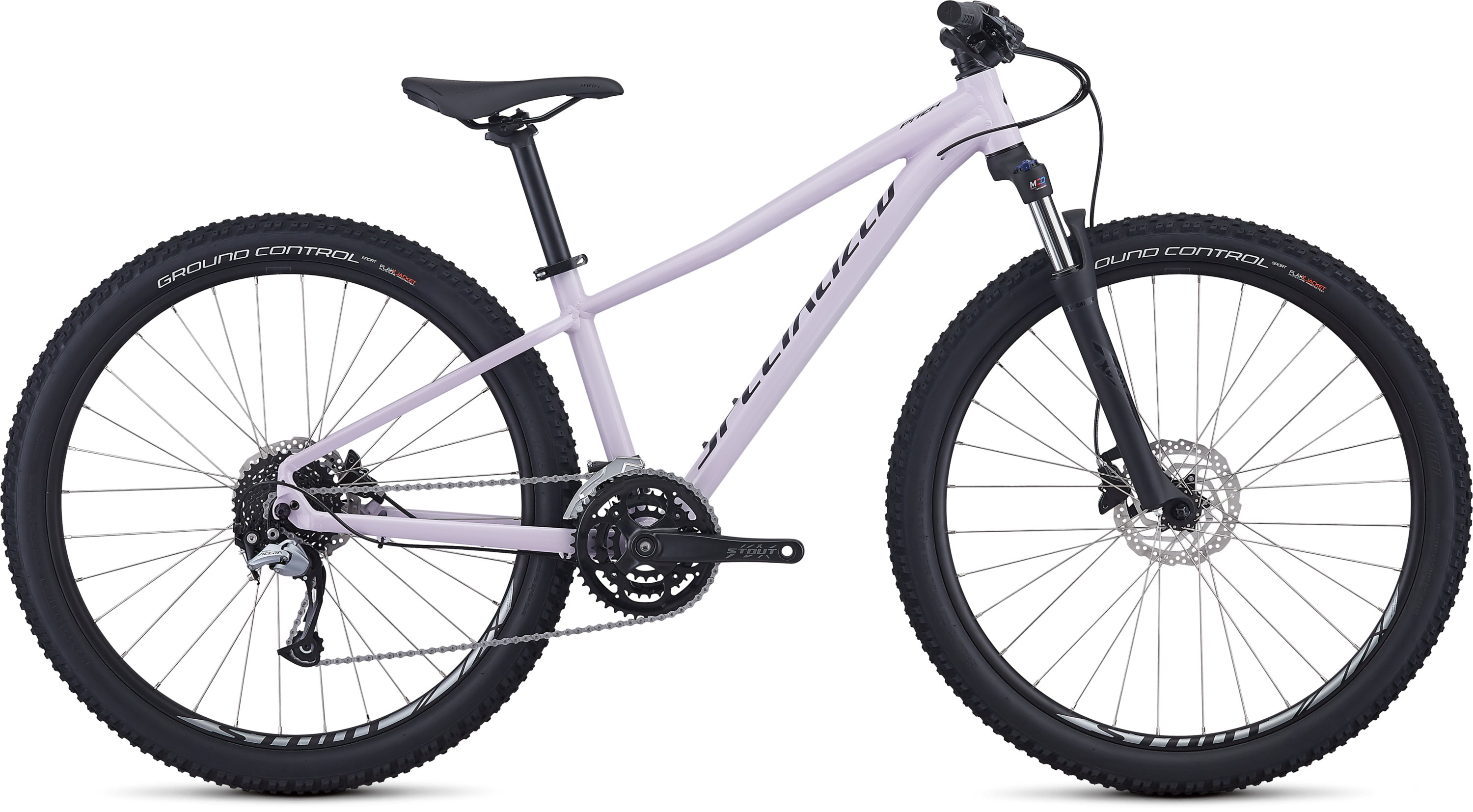 Specialized Women´s Pitch Comp Gloss Satin UV Lilac/Black/Clean M - Pulsschlag Bike+Sport