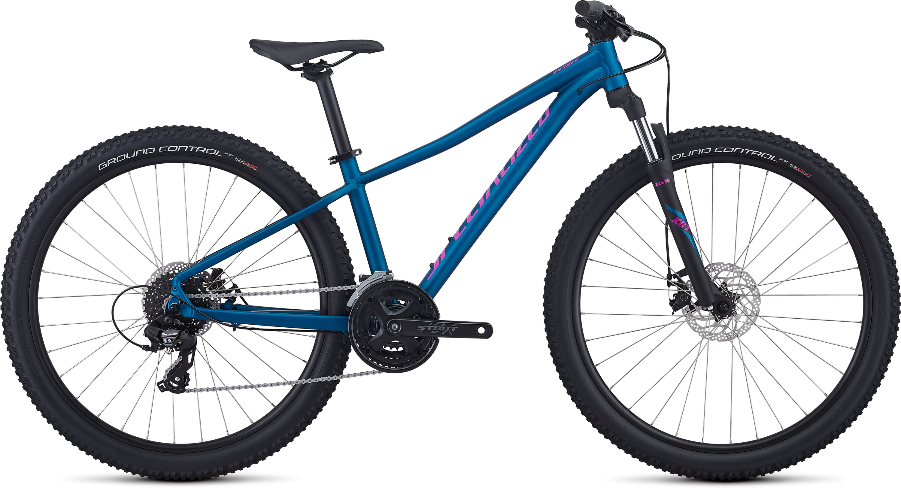 Specialized Women´s Pitch Satin Gloss Marine Blue/Acid Fuchsia/Clean M - Fahrrad online kaufen | Online Shop Bike Profis