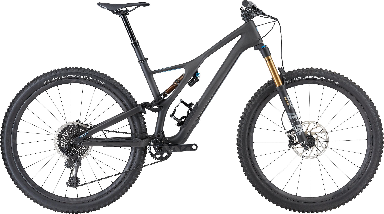 Specialized S-Works Stumpjumper 29 Satin/Carbon/Storm Grey L - Pulsschlag Bike+Sport