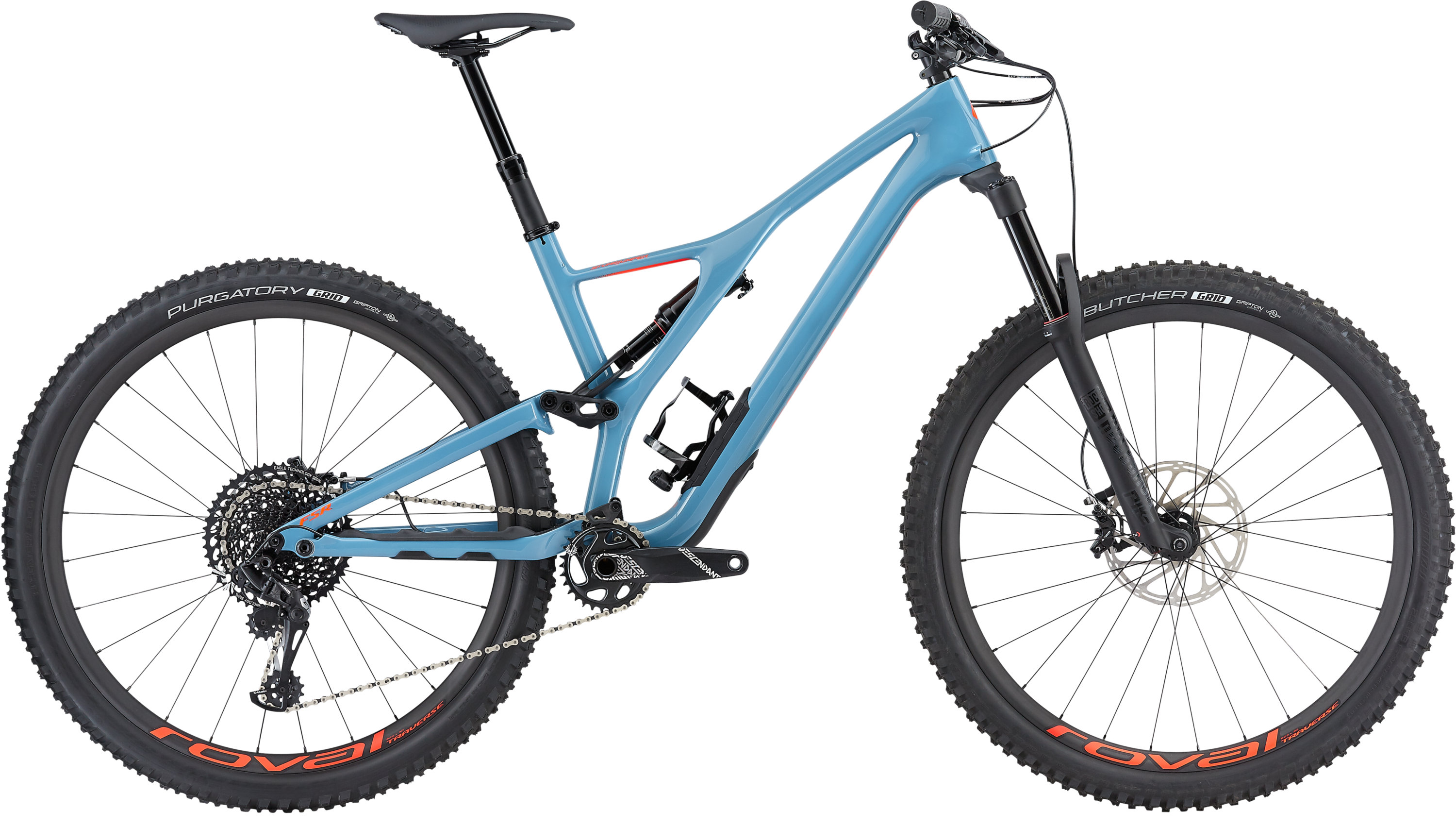 Specialized Men´s Stumpjumper Expert 29 Gloss/Storm Grey/Rocket Red L - Pulsschlag Bike+Sport