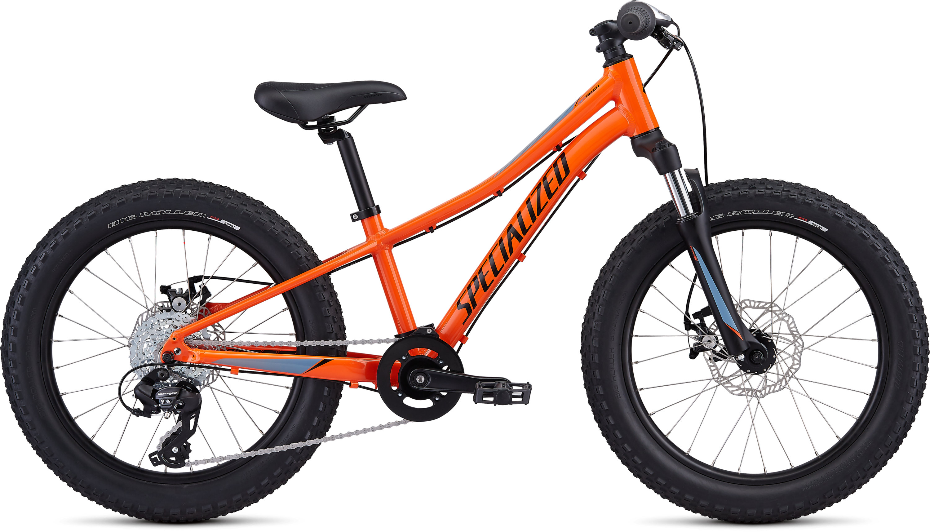 Specialized Riprock 20 Gloss Moto Orange/Charcoal/Storm Grey-Cool Grey Fade 9 - Pulsschlag Bike+Sport