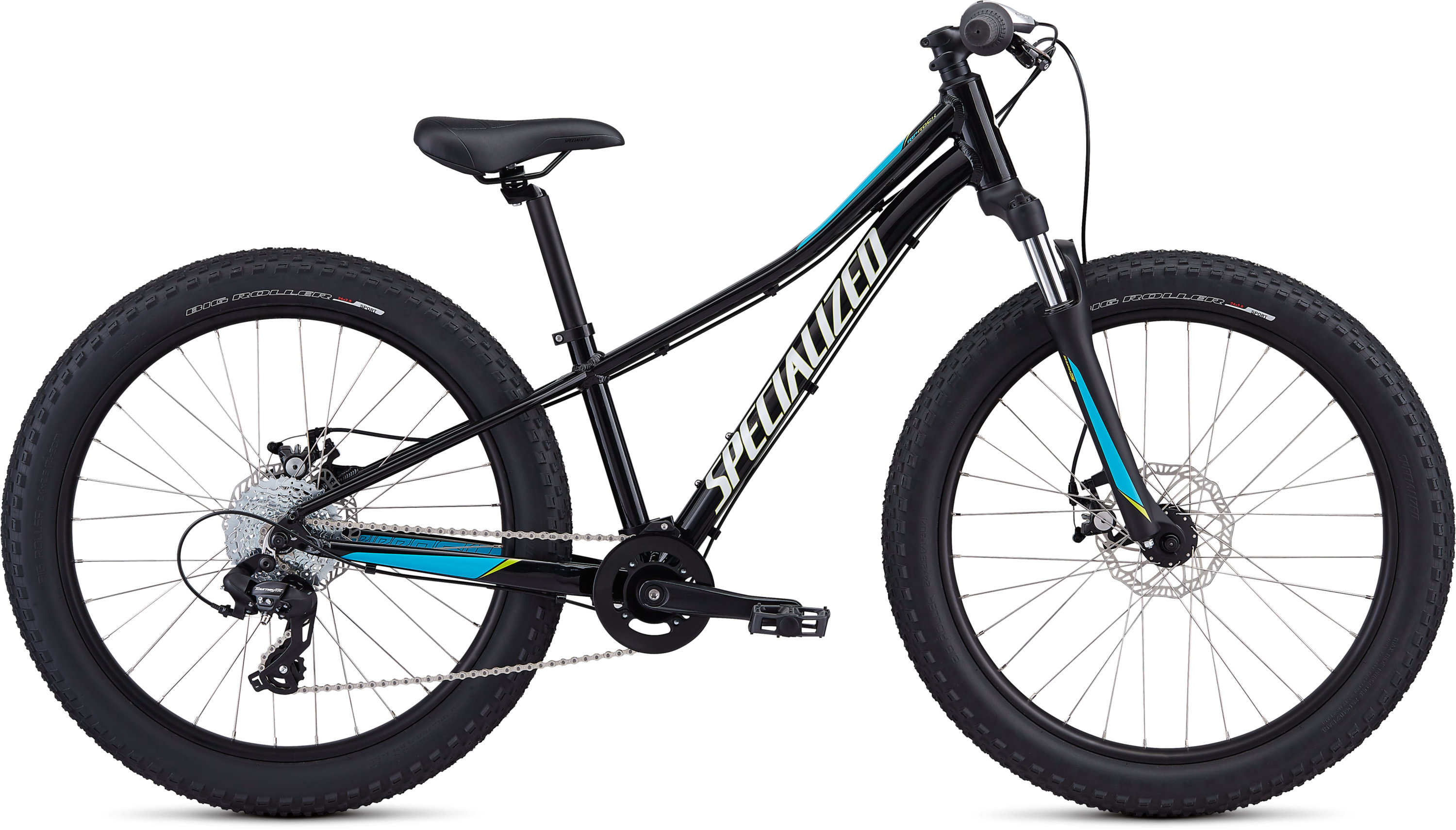 Specialized Riprock 24 Gloss Black/Nice Blue/Metallic White Silver 11 - Pulsschlag Bike+Sport