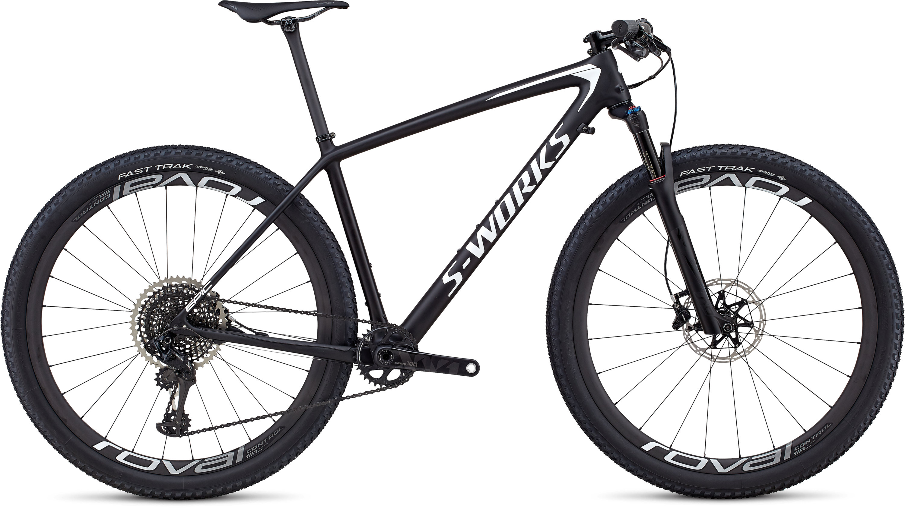 Specialized Men´s S-Works Epic Hardtail XX1 Eagle SATIN CARBON / WHITE M - Pulsschlag Bike+Sport