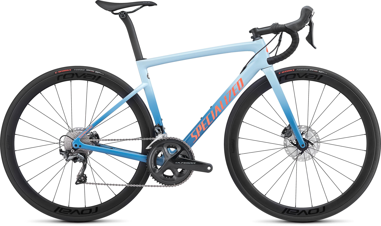 Specialized Women´s Tarmac Disc Expert Storm Grey/Ice Blue/Acid Lava 44 - Pulsschlag Bike+Sport