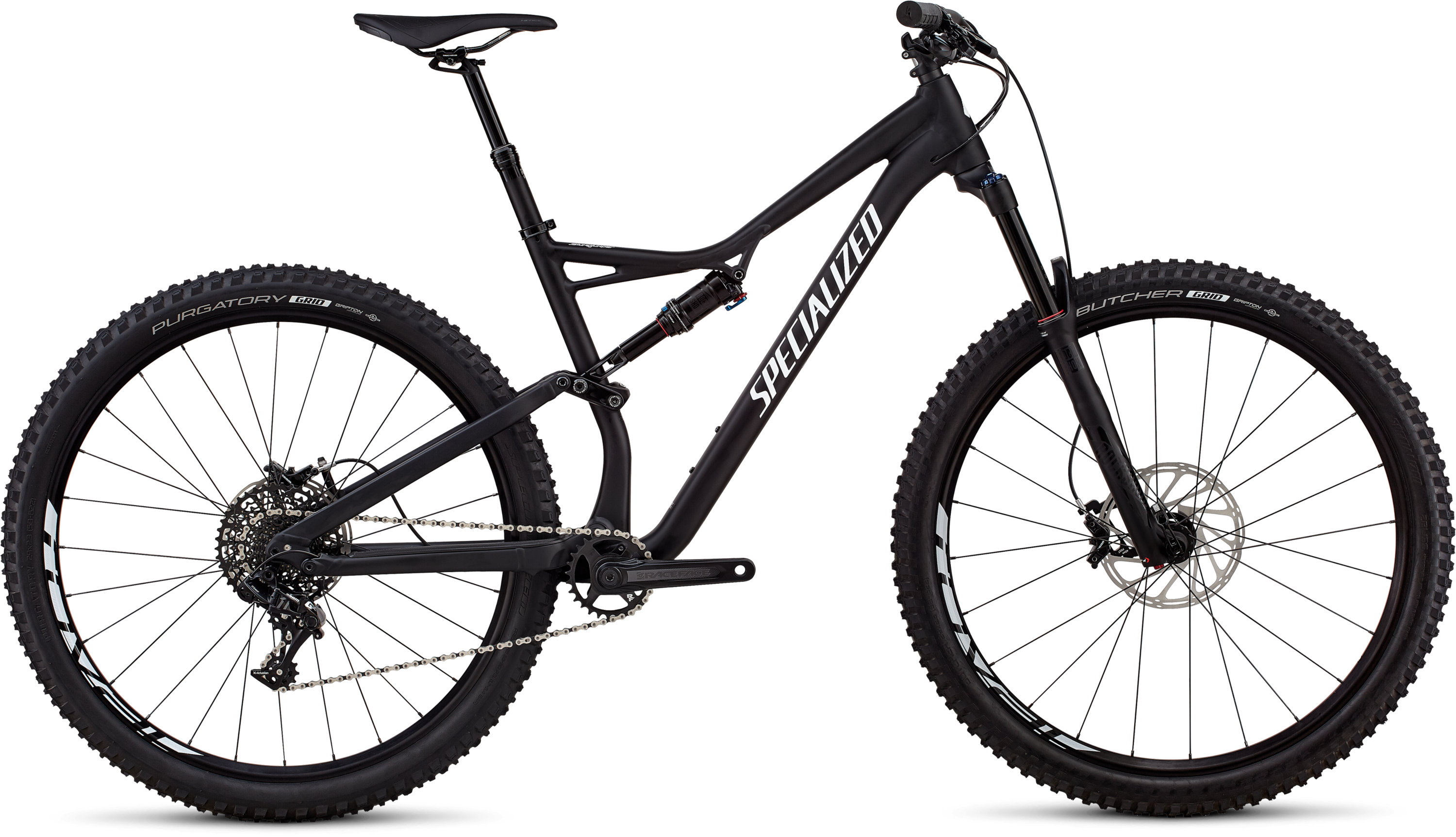 Specialized Stumpjumper Comp Alloy 29/6Fattie SATIN BLACK / WHITE CLEAN L - Bartz Bikesystem & Velodepot