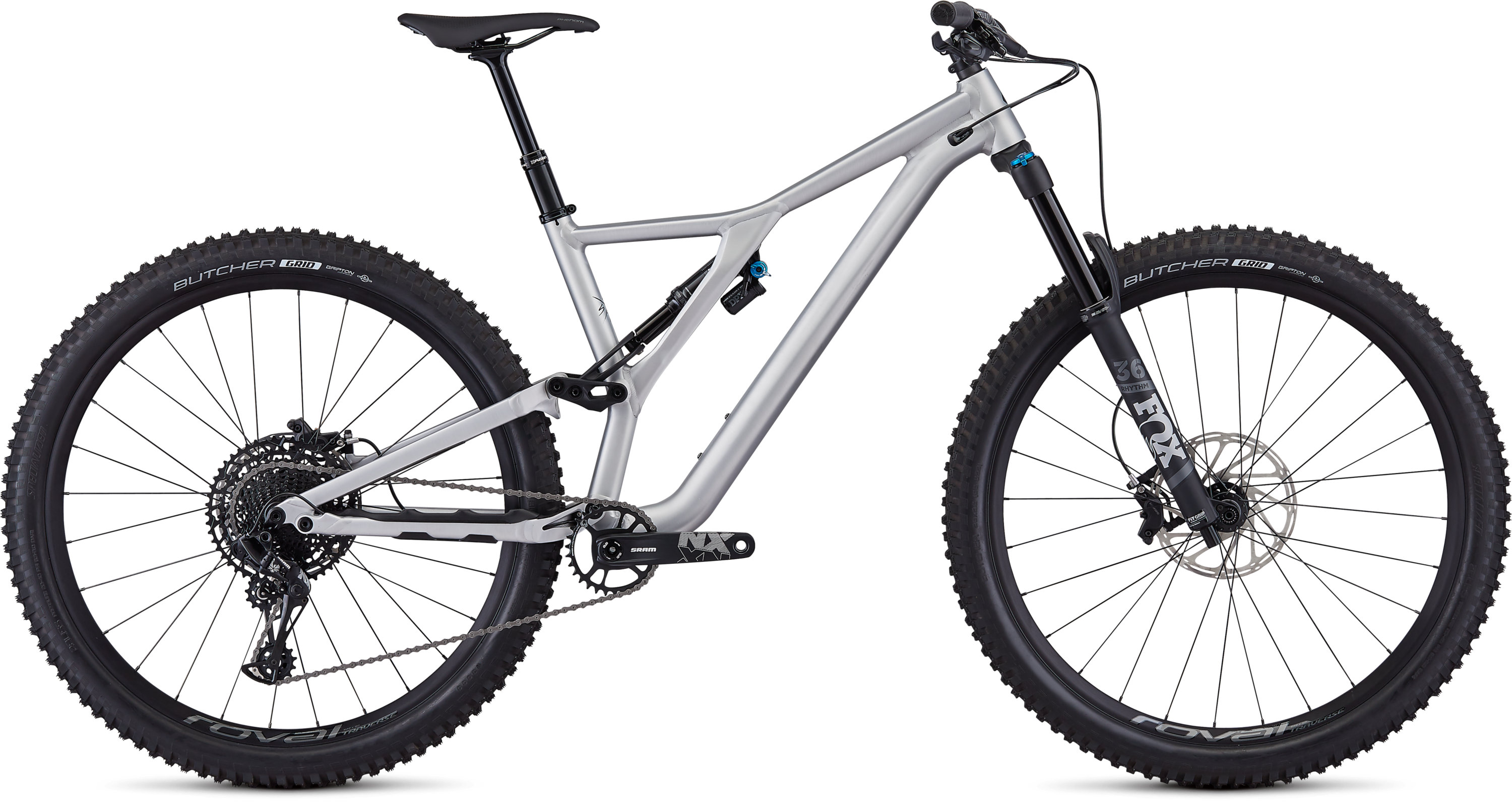 Specialized Men´s Stumpjumper EVO Comp Alloy 29 Satin Brushed/Black S2 - Pulsschlag Bike+Sport