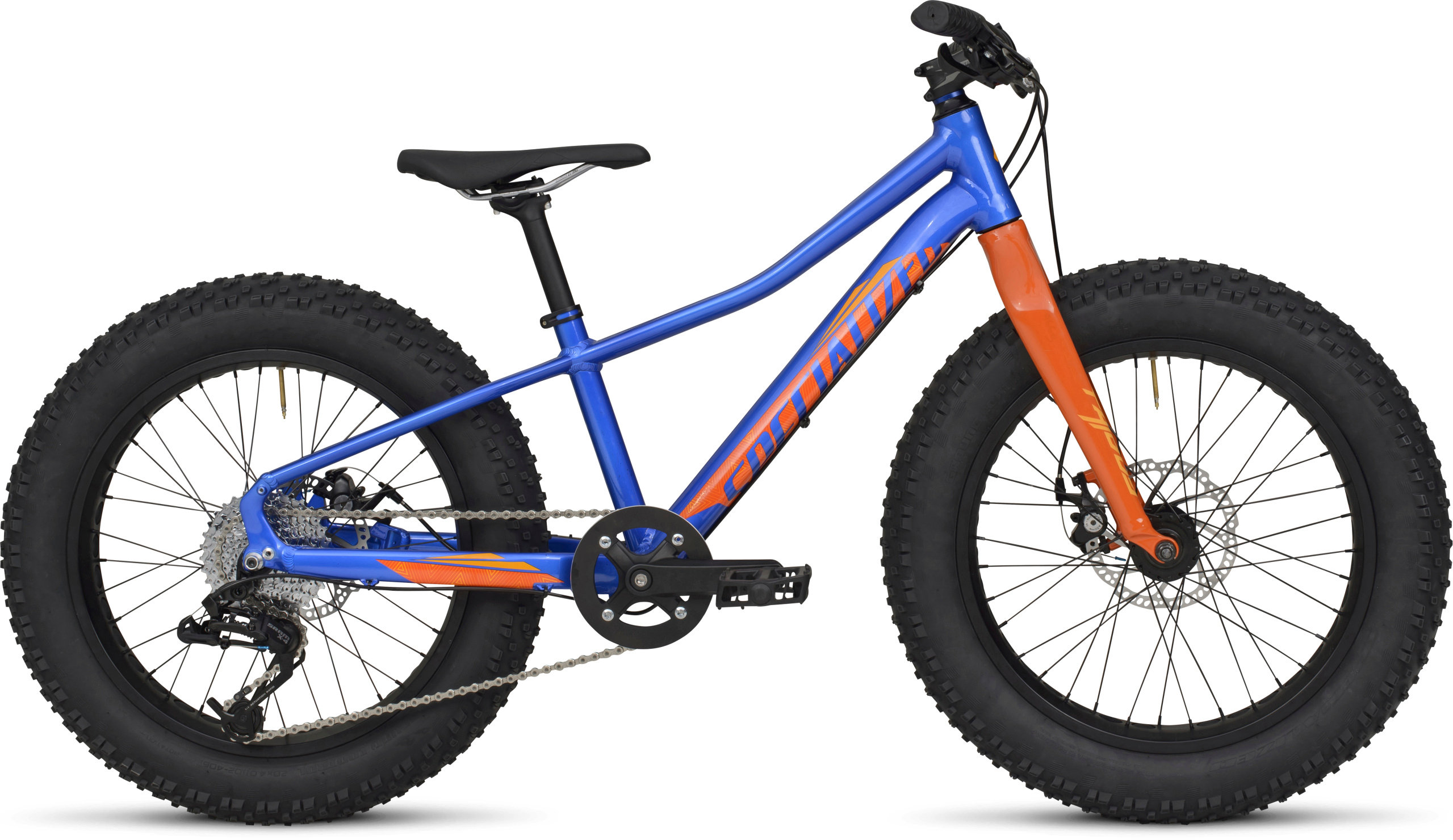 Specialized Fatboy 20 Gloss Royal Blue/Moto Orange/Gallardo Orange 11 - Pulsschlag Bike+Sport