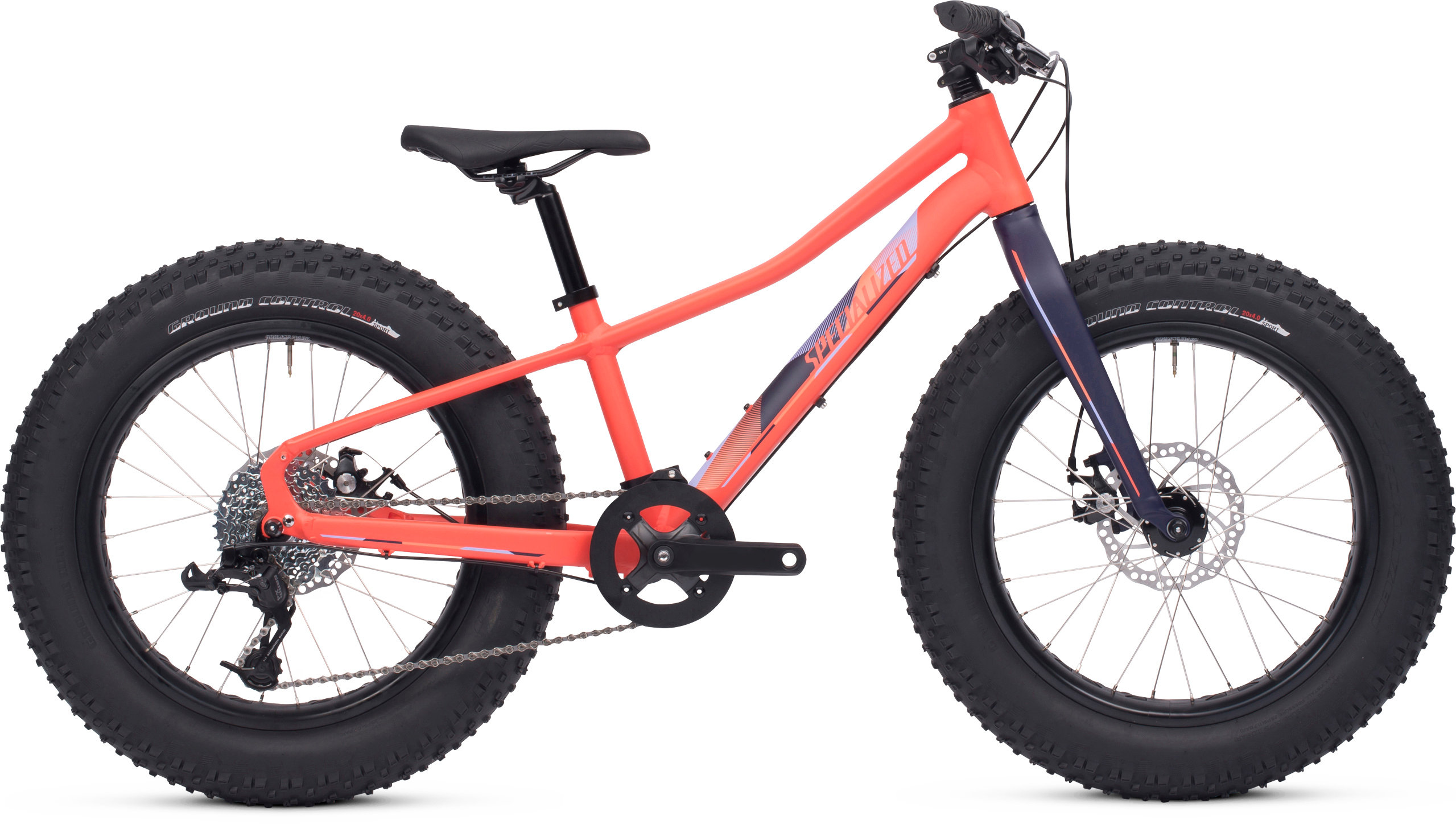 Specialized Fatboy 20 Satin Coral/Deep Indigo/Powder Indigo/Powder Coral 11 - Pulsschlag Bike+Sport
