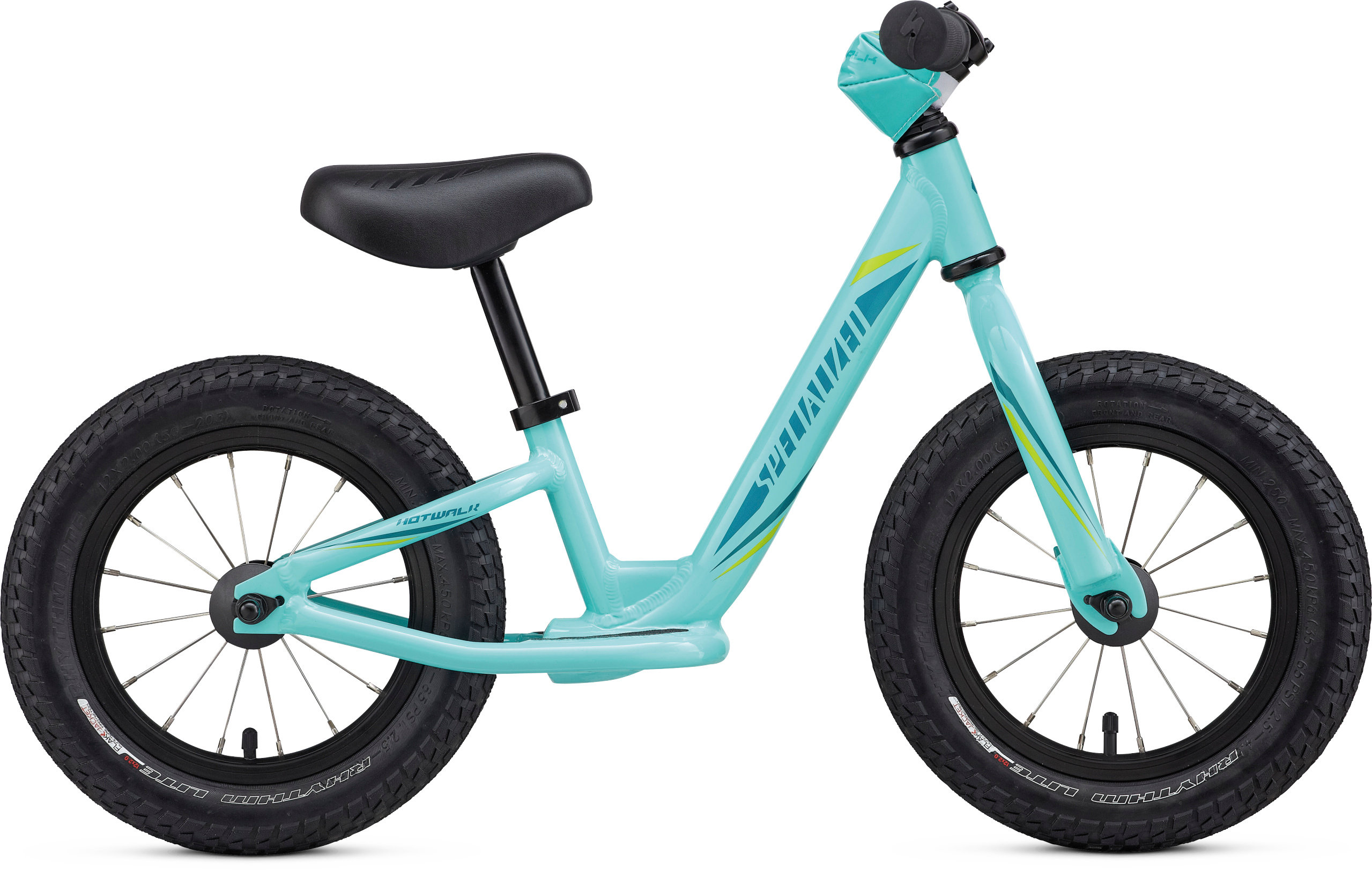Specialized Girl´s Hotwalk Light Turquoise/Hyper Green/Turquoise 5 - Pulsschlag Bike+Sport