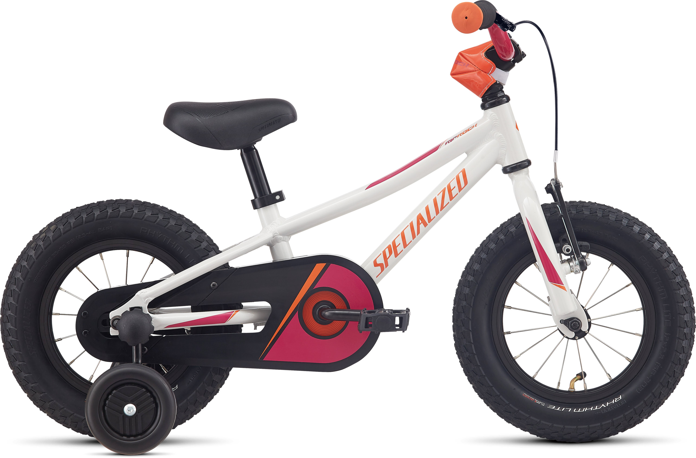 Specialized Riprock Coaster 12 Gloss White Metallic Silver/Rainbow Flake Pink/Moto Orange 6 - Pulsschlag Bike+Sport