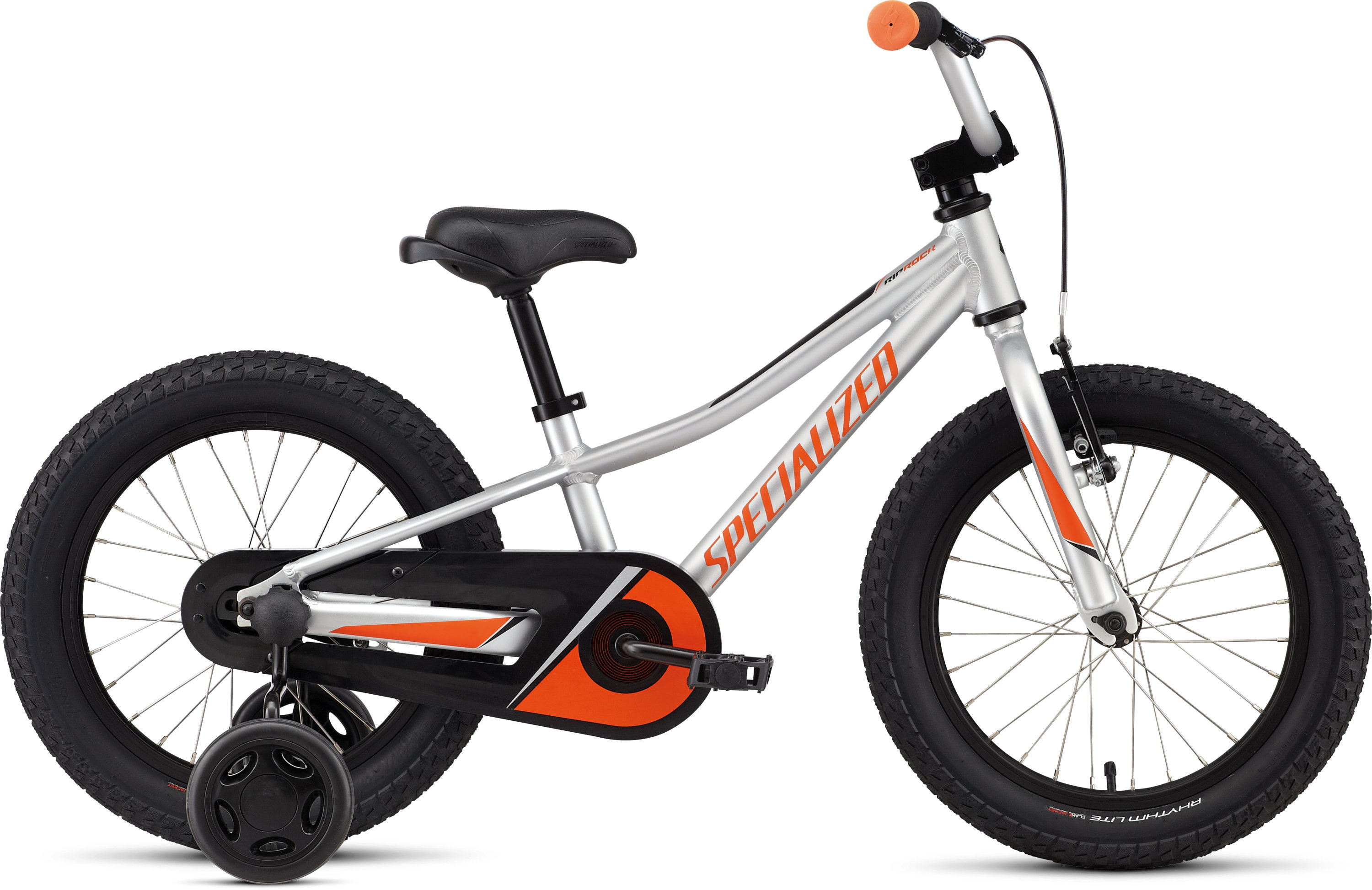 Specialized Riprock Coaster 16 Satin Light Silver/Moto Orange/Black 7 - Pulsschlag Bike+Sport