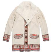 Women's Zippora Long Jacket - Cream