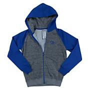 Boys' Field Raglan Zip Hoody - Blue
