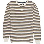 Men's Digital LS Knit Shirt - Light Brown / Beige