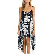 Women's By The Shore Dress - Black Patterned