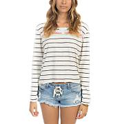 Women's Be Real Again Sweatshirt - Stripe