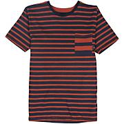Boys' Chamber Stripe Short Sleeve Knit Top - Stripe