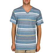 Men's Made Vneck Tee - Gray Patterned