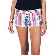 Women's Lite Hearted Stripe Short - Stripe