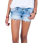 Women's Laneway Denim Short - Denim Blue