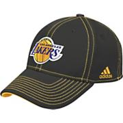 Men's Lakers Structured Flex Cap - Black