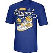 Men's Warriors Maintain it Original Tee - Blue