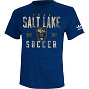 Men's Real Salt Lake Classic Conference Tee - Navy / Dark Blue