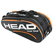 Tour Team Combi Tennis Racquet Bag - Black