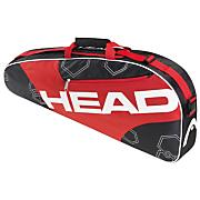Elite Pro Tennis Bag - Black / Red
