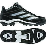 Men's Malice 2 TD Cleats – Black/Running White/Metallic Silver