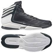 Men's Adizero Crazy Light 2.0 Basketball Shoes - Dark Onix/Running White