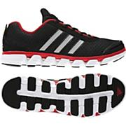 Men's Liquid 2 Running Shoes  – Black/Metallic Silver/Light Scarlet