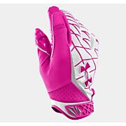 Warp Speed Football Glove - BCA - Pink