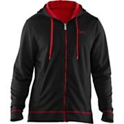 Men's Tech Zip Fleece Hoody - Black