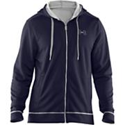Men's Tech Zip Fleece Hoody - Navy / Dark Blue
