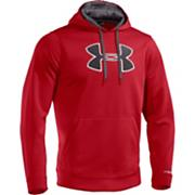 Men's Sa Fleece Big Logo Hoody - Red