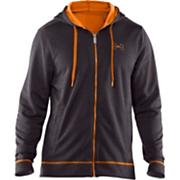 Men's Tech Zip Fleece Hoody - Charcoal