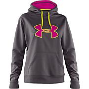 Women's Storm Logo Fleece Hoody - Charcoal