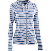 Women's UA Charged Cotton Zip Hoody - Stripe