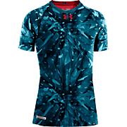 Boys' NFL Combine Shatter Short Sleeve Top - Blue Patterned