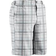 Men's UA Forged Plaid Short 3.0 - White Patterned
