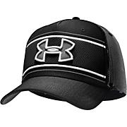 Men's UA Mesh Panel Cap - Black