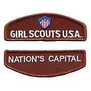 Brownie Girl Scout Council Identification Strip Set-Orange County